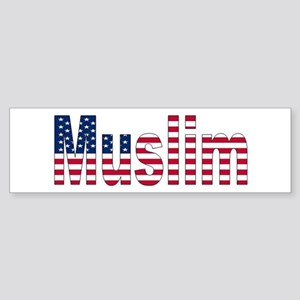 Muslim American Bumper Sticker