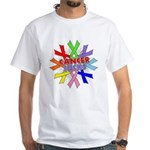 All Cancers Suck White T-Shirt