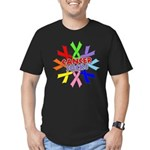 All Cancers Suck Men's Fitted T-Shirt (dark)