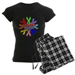 All Cancers Suck Women's Dark Pajamas