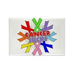 All Cancers Suck Rectangle Magnet (100 pack)