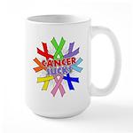 All Cancers Suck Large Mug