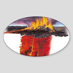 artwork - Sticker (Oval 10 pk)