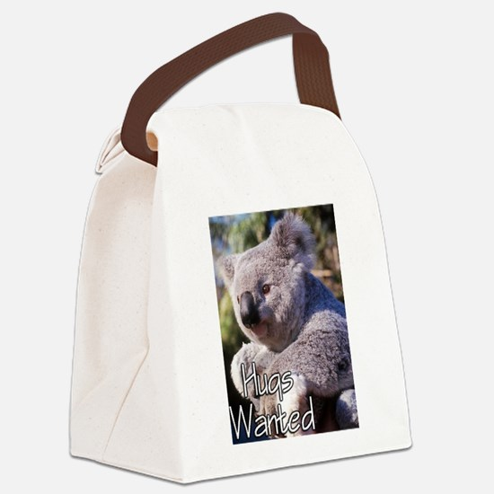 koala.tif Canvas Lunch Bag