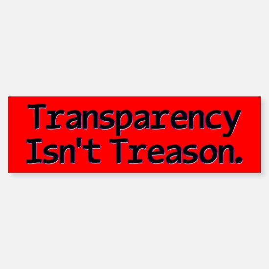 Transparency Sticker (Bumper)