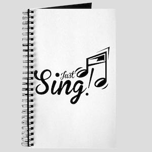Just Sing Journal