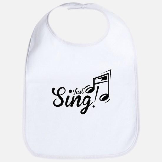 Just Sing Bib