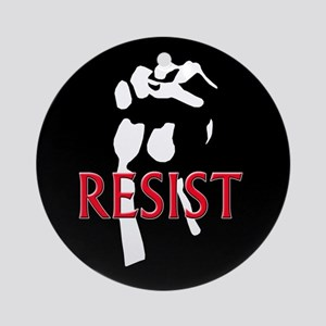 Resist Ornament (Round)
