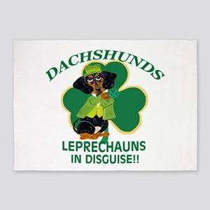 Dachshunds Are Leprechauns In 5'x7'area Ru
