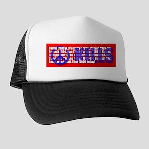 Peace Kills Trucker Hat