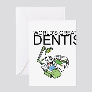 Worlds Greatest Dentist Greeting Card