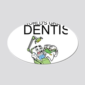 Worlds Greatest Dentist Wall Decal