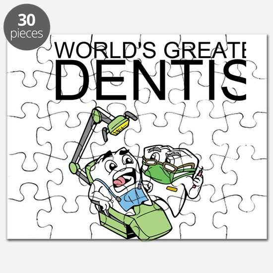 Worlds Greatest Dentist Puzzle