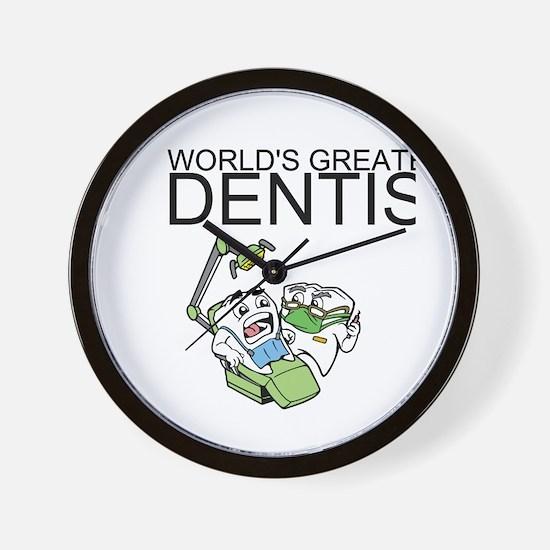 Worlds Greatest Dentist Wall Clock