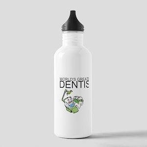 Worlds Greatest Dentist Water Bottle