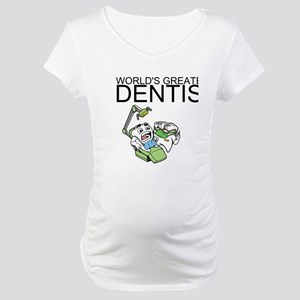 Worlds Greatest Dentist Maternity T-Shirt