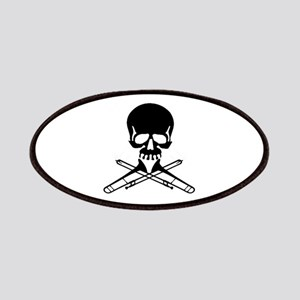 Skull with Trombones Patches