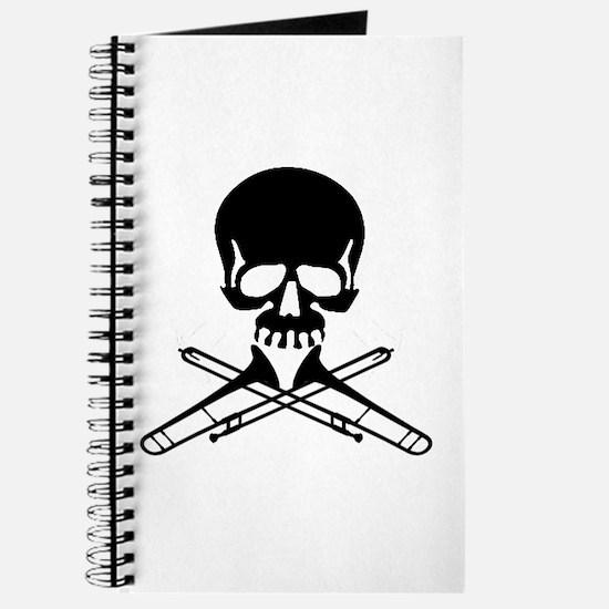 Skull with Trombones Journal