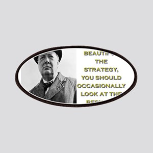 However Beautiful The Strategy - Churchill Patch