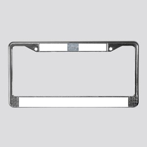 As I Grow Older - Haggard License Plate Frame