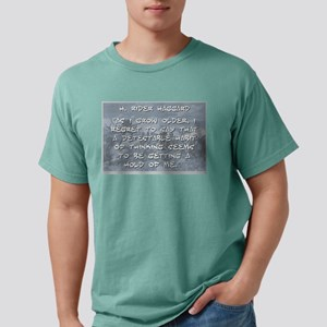 As I Grow Older - Haggard Mens Comfort Colors Shir