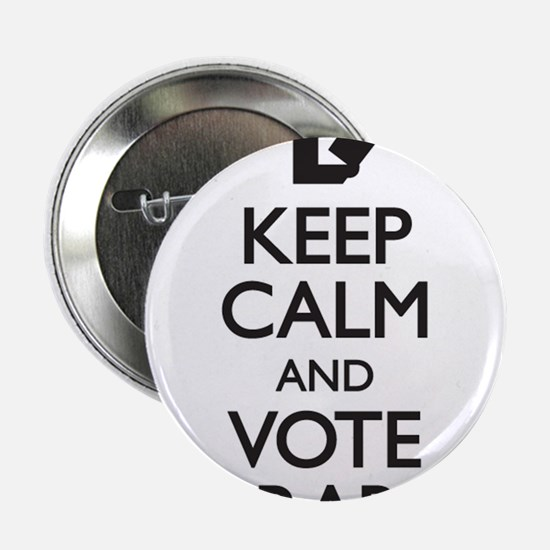 """Keep Calm and Vote Libraries 2.25"""" Button"""