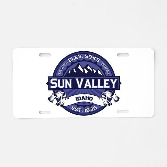 Sun Valley Midnight Aluminum License Plate