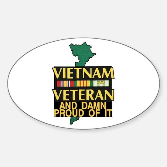 VIETNAM PROUD OF IT Decal