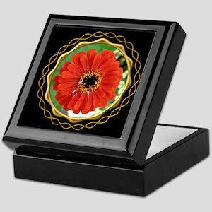 Zinnia Black Keepsake Box