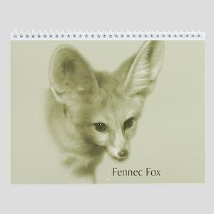 Fennec Fox Wall Calendar