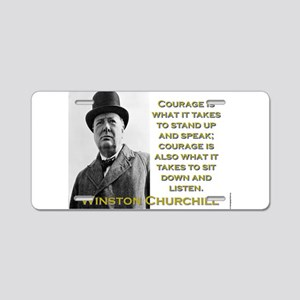 Courage Is What It Takes - Churchill Aluminum Lice