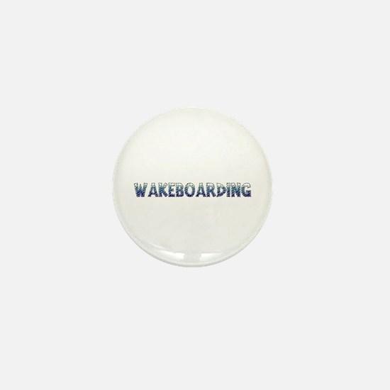 Wakeboarding Mini Button