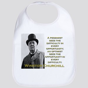A Pessimist Sees The Difficulty - Churchill Cotton