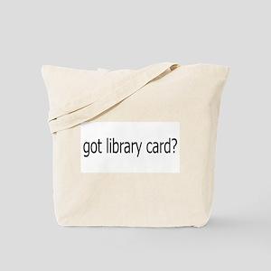 got card? Tote Bag