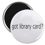 got card? Magnet