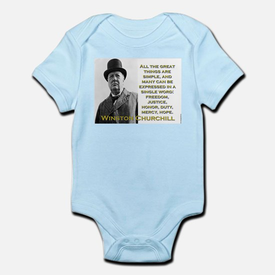 All The Great Things Are Simple - Churchill Infant