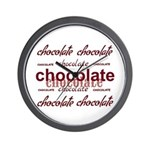 Celebrate Chocolate Wall Clock