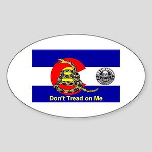 Don't Tread on Me Colorado Flag 2nd Amendment