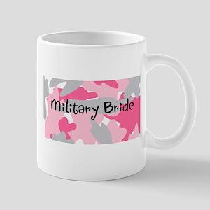 Pink Camo Military Bride on Mug