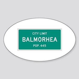 Balmorhea, Texas City Limits Sticker