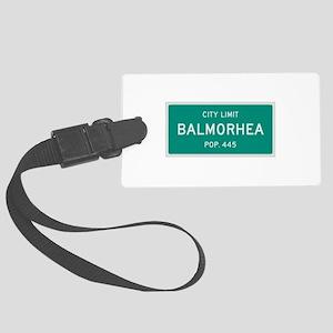 Balmorhea, Texas City Limits Luggage Tag