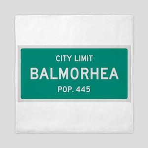 Balmorhea, Texas City Limits Queen Duvet