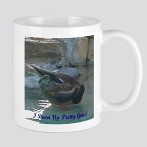 Preening Duck Mug