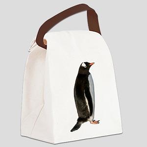 Gentoo Penguin Canvas Lunch Bag
