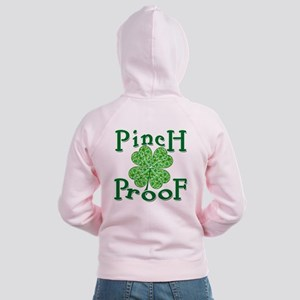 Pinch Proof for St Paddy's Day Women's Zip Hoodie