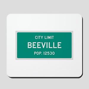 Beeville, Texas City Limits Mousepad