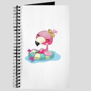 Flamingo Swimming Journal