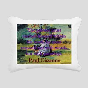 The Painter Must Enclose Himself - Paul Cezanne Re