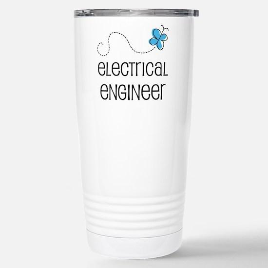 Cute Electrical engineer Stainless Steel Travel Mu
