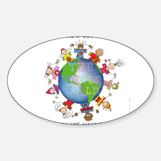 Hes Got the Whole World in His Hands Decal